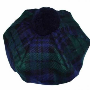 Children's Tartan Tam- Black Watch