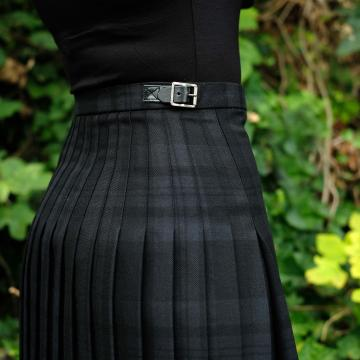 Mini Kilt in Black Spirit
