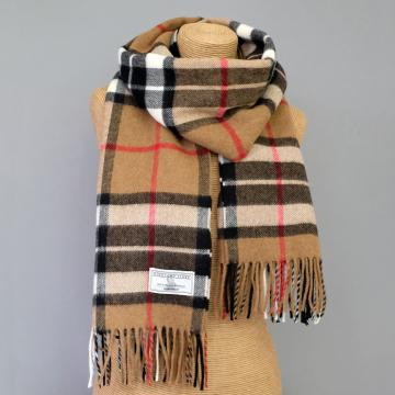 Camel Thompson Lambswool Stole