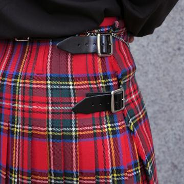 Mens Pure Worsted Wool 2 Yard Kilt