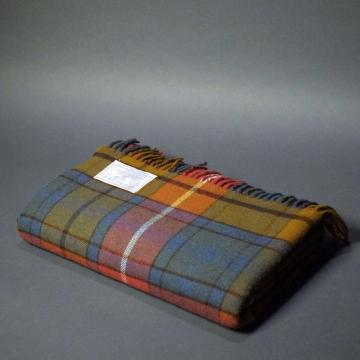 Highland Store Extra Fine Lambswool Antique Buchanan Blanket