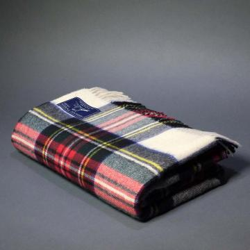 Highland Store  Extra Fine Lambswool Dress Stewart Blanket