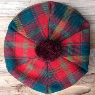 Lambswool Tam O'Shanter in Maple Leaf