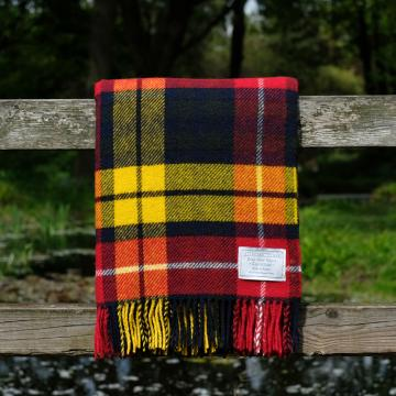 Highland Store Utility Rug Modern Buchanan. Pure Wool Throw in Modern Buchanan. Tartan Blanket