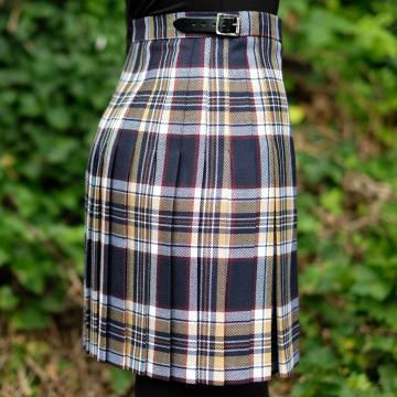 Mini Kilt in Navy Stewart Tartan