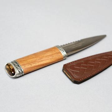 Sgian Dubh with Rosewood and Cairngorm Handle