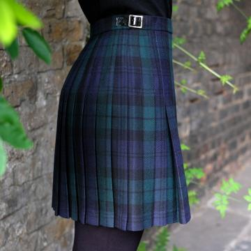 Mini Kilt in Black Watch Tartan