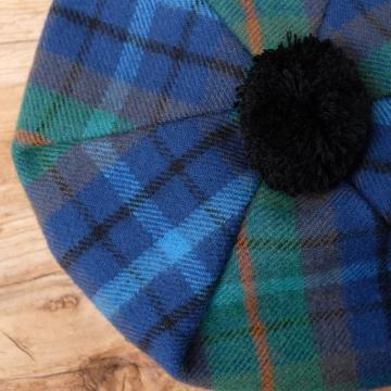 Lambswool Tam O'Shanter in New York Tartan
