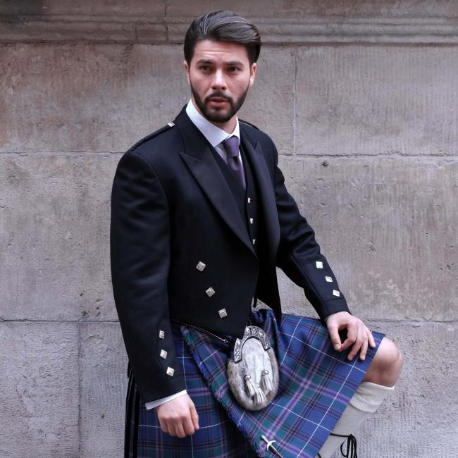 Prince Charlie Jacket with 5 Button Waistcoat