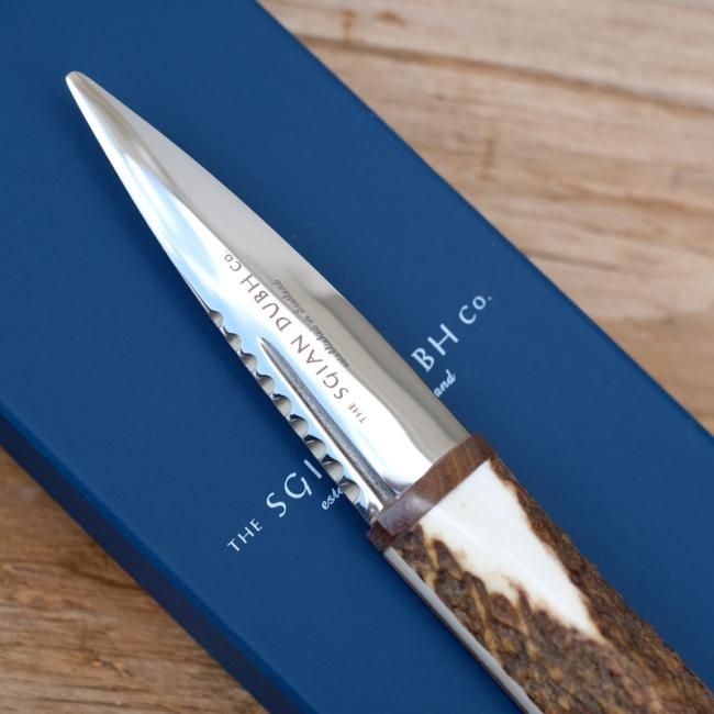 Sgian Dubh with Stag Horn Handle