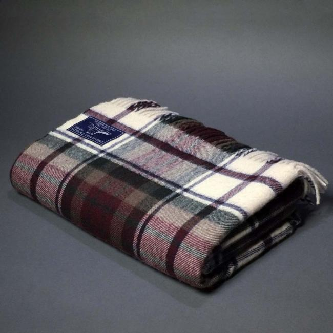 Highland Store Extra Fine Lambswool Macduff Blanket