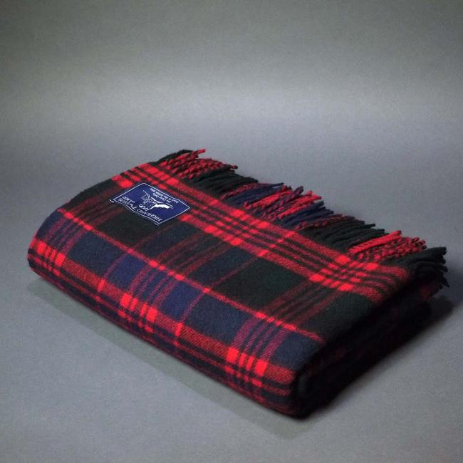 Highland Store Extra Fine Lambswool Macdonald Blanket