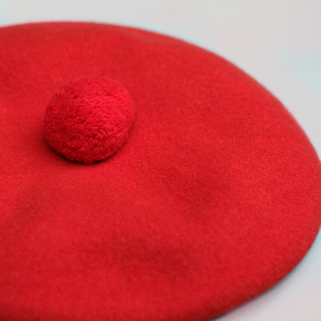 Beret Tam In Red